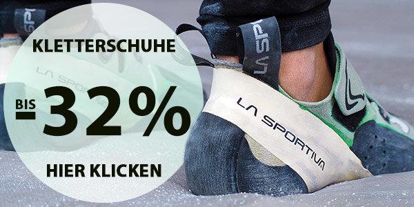 Kletterschuhe bei sportokay.com - Rabatte bis zu 32% + 10% Extra-Rabatt on top