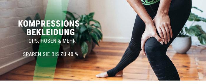 Kompressionsbekleidung bis zu 40% günstiger bei wigglesport.de
