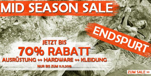 Endspurt im Mid Season Sale bei chalkr.de - jetzt Rabatte bis zu 70%