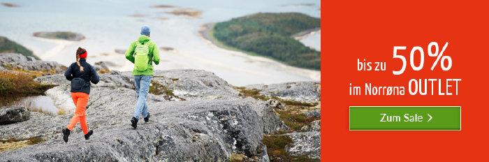 Norrøna im Outlet von bergzeit.de - bis zu 50% reduziert