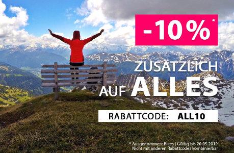 10% Extra-Rabatt auf alles bei sportokay.com - nur noch bis morgen
