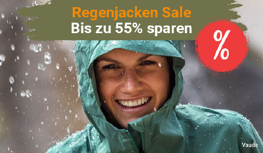 Regenjacken-Sale bei outdoor-broker.de