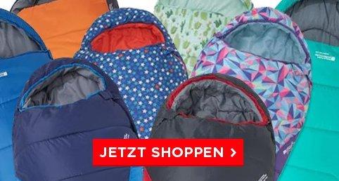 Schlafsäcke bis zu 50% reduziert bei mountainwarehouse.com