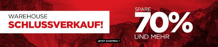 Schlussverkauf bei mountainwarehouse.com - Rabatte bis zu 70%