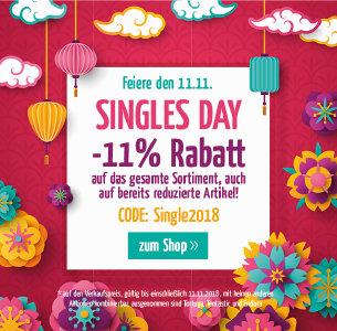 Singles-Day bei doorout.com - 11% Rabatt on top auf alles