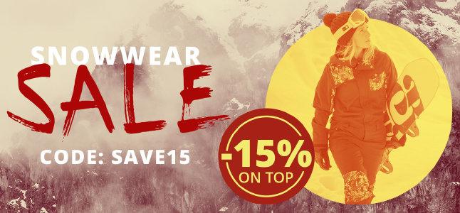 Snowwear-Sale bei blue-tomato.com - 15% Extra-Rabatt sichern