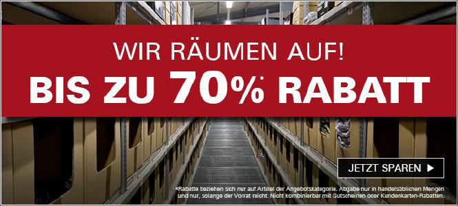 Sommer Abverkauf mit bis zu 70% Rabatt bei asmc.de