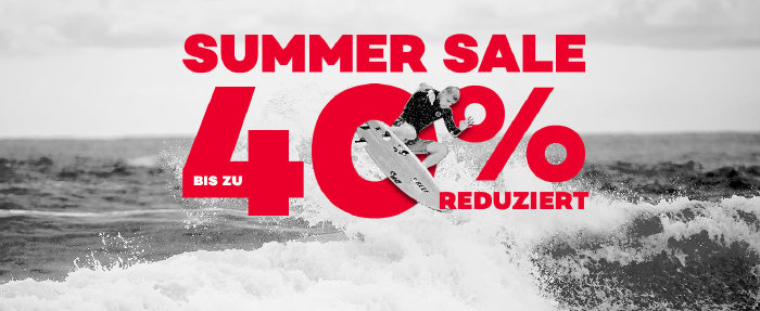 Summer Sale mit bis zu 40% Rabatt bei planet-sports.de