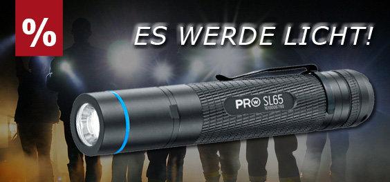 Taschenlampen und Co bis zu 60% reduziert bei asmc.de