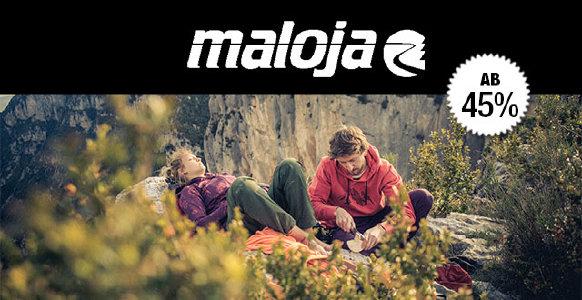 Top Deal: Maloja bei outdoor-broker.de