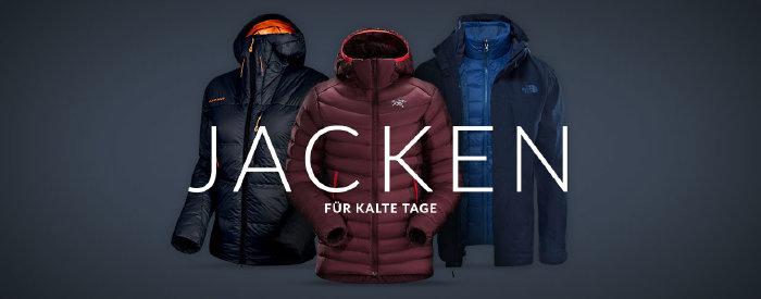 Warme Jacken bei engelhorn.de - Modelle reduziert