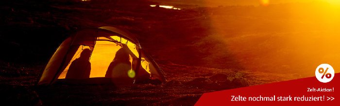 Zeltaktion bei sued-west.com - Ausgewählte Zelte reduziert